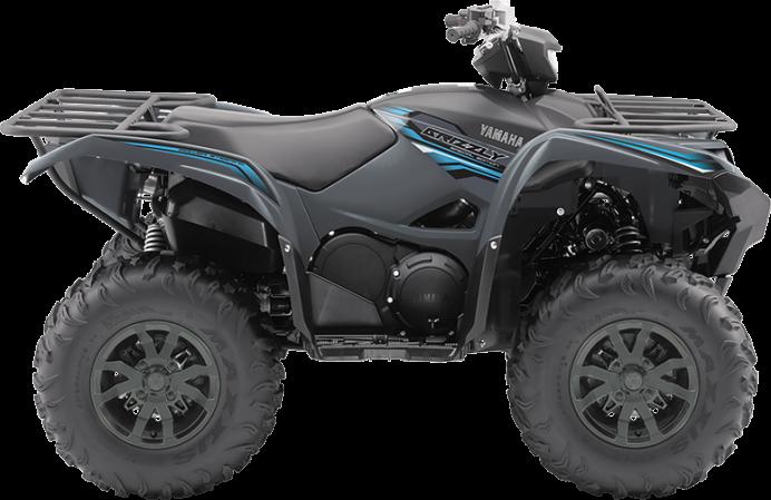 Yamaha Grizzly DAE SE 2018
