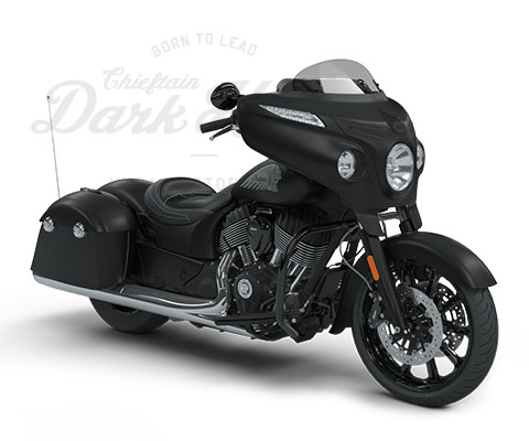 Indian Motorcycles Chieftain Dark Horse® 2018