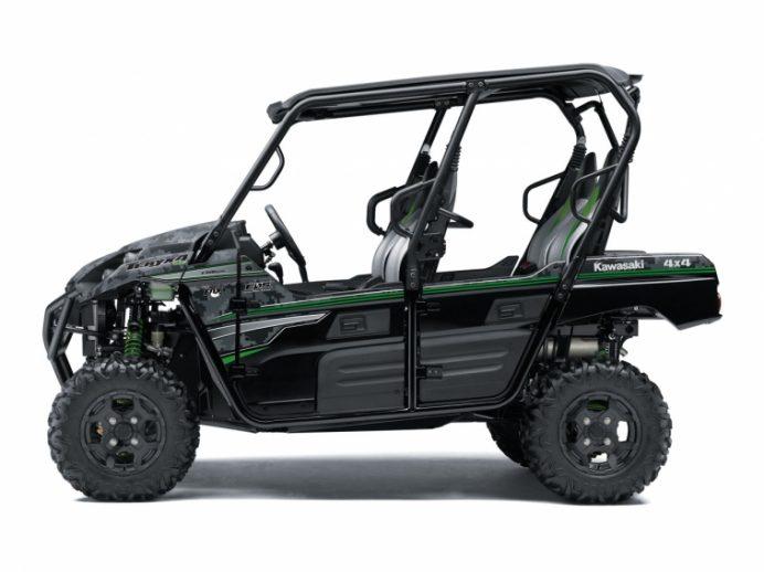 2018 Kawasaki Teryx4 EPS LE MATRIX CAMO