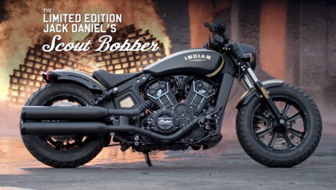 Indian Motorcycles Scout® Bobber Jack Daniel's® LE 2018