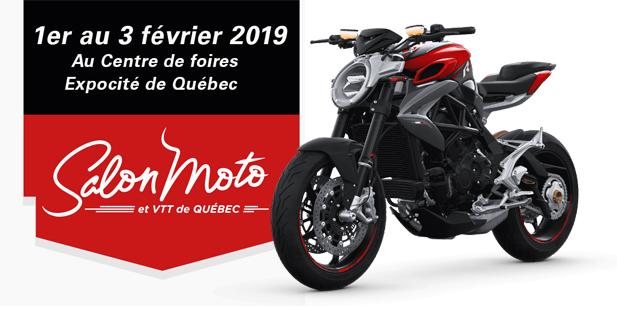 Salon Moto Québec 2019 - Motos illimitées terrebonne laval montreal