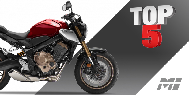 top 5 naked bikes - motos illimitees terrebonne laval montreal