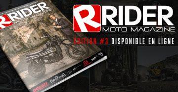 NOUVEAU !!! RIDER Magazine | Vol. 3 - Octobre 2020
