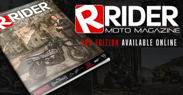 Rider Magazine | Vol. 3 | October 2020